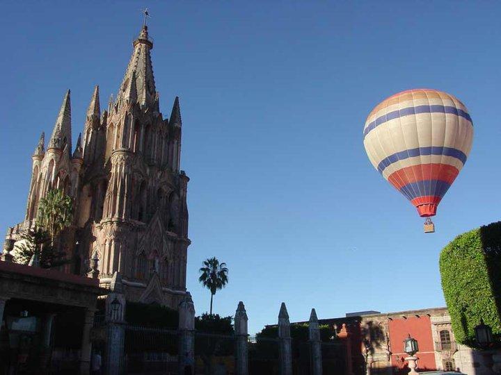 Atracciones en San Miguel de Allende.